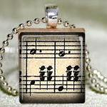 Waltz Music Scrabble Pendan..